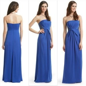 BCBGMAXAZRIA • Blue Long Formal Dress [Gowns]
